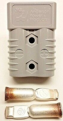 6325G1 Anderson Original SB 175 Battery Connector Gray 1/0 AWG