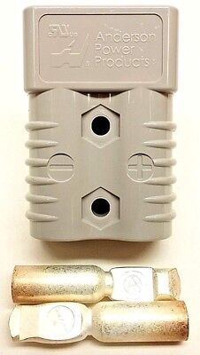 6325G6 Anderson Original SB 175 Battery Connector Gray #4 AWG