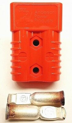 6327G1 Anderson Original SB 175 Battery Connector Orange 1/0 AWG