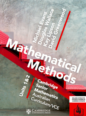 Cambridge VCE Mathematical Methods Unit 1/2 PDF Version