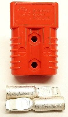 6327G5 Anderson Original SB 175 Battery Connector Orange #2 AWG