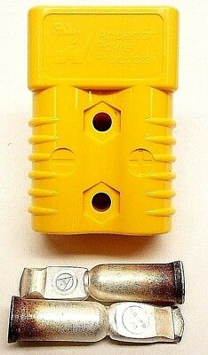 6328G1 Anderson Original SB 175 Battery Connector Yellow 1/0 AWG