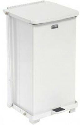 Rubbermaid ST12ERB Defenders Fire Safe Step On Metal Trash Cans, 12 Gallon,