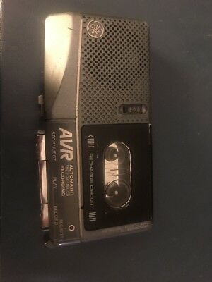 GE 3-5376B Microcassette Recorder with Voice Activation AVR ...