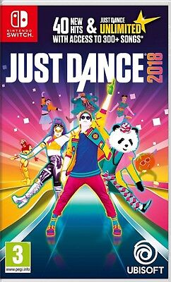 Just Dance 2018 English subtitle Nintendo Switch NEW