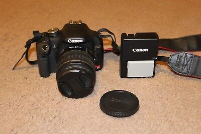 Canon Rebel T1i EOS Digital Camera EFS 18-55mm Lens with Charger and Battery
