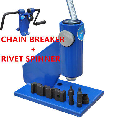 Chainsaw Chain Breaker & Rivet Spinner Professional Bench Model Suit All Chains