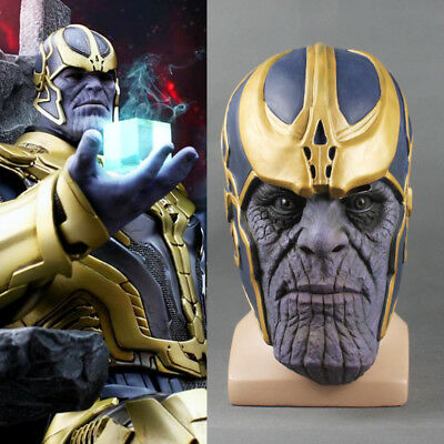 2018 Infinity War Cosplay Thanos Mask Infinity Gaunt The Avengers Cosplay Props