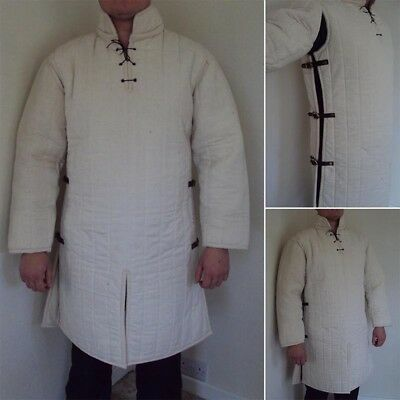 14th Century Padded Gambeson, Body Armour, Perfect For Re-enactment Or Costume #