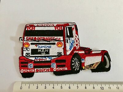 1a Aufnäher Patch Truck Trucker Racing