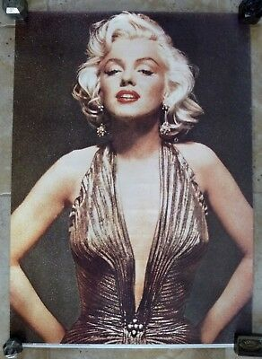 Tres Beau Poster / Affiche Ancienne Marilyn Monroe / 2