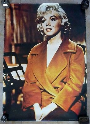 Tres Beau Poster / Affiche Ancienne Marilyn Monroe / 4