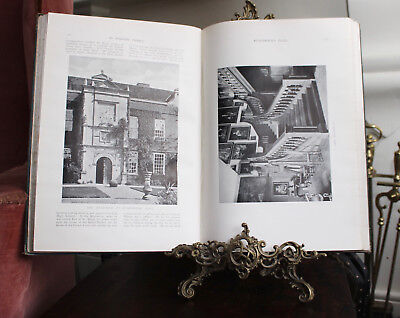 Rare Edwardian Two Vol. Book, Published 1907, 'In English Homes', CHARLES LATHAM