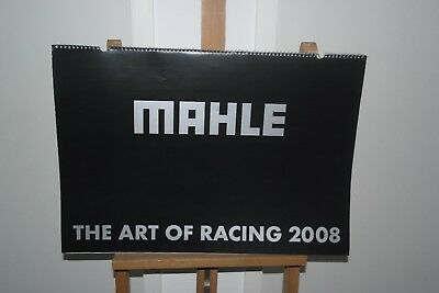 Mahle 2008 Calendar Kalender Formel 1  DTM Autorennen The Art Of Racing selten