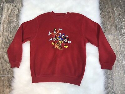 MICKEY MOUSE Vtg Disney Character Fashions Sweater child's Size Medium