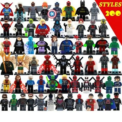 Marvel Avengers Minifigur passt Lego DC Justice League X Men Batman vs Superman