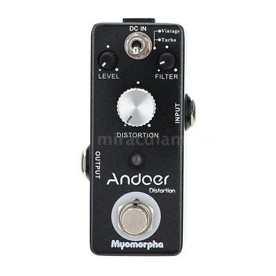 High Quality Mini Distortion Guitar Effect Pedal True Bypass With LED Indicator