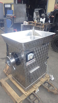 Mincer Grinder D114 size,6 x 114cm plates,MASSIVE 4Hp,13cm inlet,FULLY WORKING