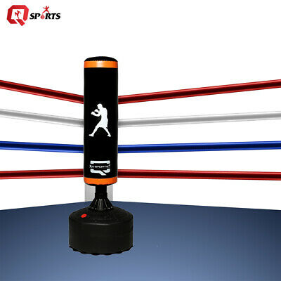 Q Sports 6ft Free Standing Heavy Duty Boxing Punch Bag MMA Kick Boxing Exercise