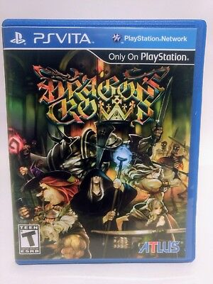 Dragon's Crown -PS Vita- PlayStation Custom Replacement Case *No Game*