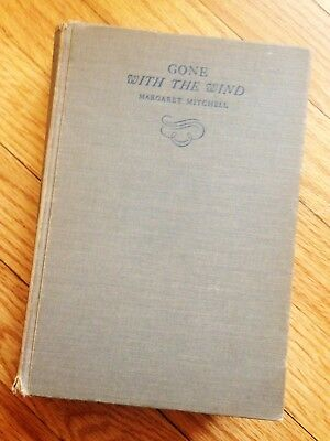 RARE - GONE WITH THE WIND - By Margaret Mitchell