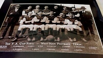 West Ham Utd FA Cup Runners-Up 1923