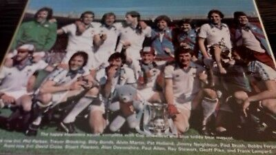 West Ham United F.A Cup Winners 1980.