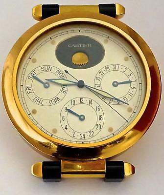 Superb Cartier Desk Clock: PASHA