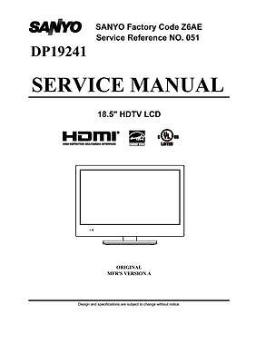 Sanyo tvvideo service manuals on 2 dvd all files in pdf format sanyo tvvideo service manuals on 2 dvd all files in pdf format 1 of 3free shipping fandeluxe Images