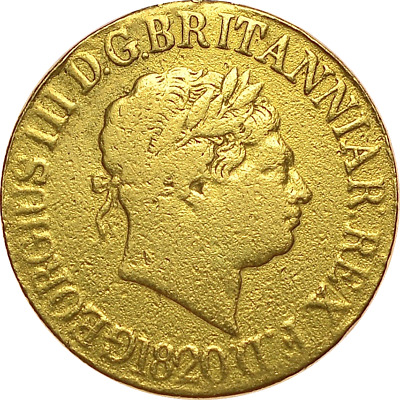 1820 Sovereign George Iii ®-1219