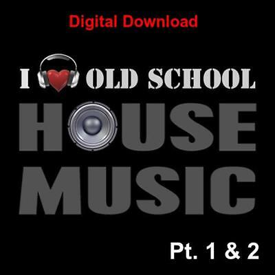 DJ Friendly Old School Classic House music collection 3,000+ unmixed full tracks