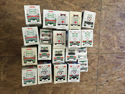 LOT OF 20x Hess Trucks - 1987 1988 1989 1990 1991 and more - READ