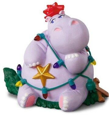 Hallmark 2018 I Want a Hippopotamus for Christmas Magic Ornament