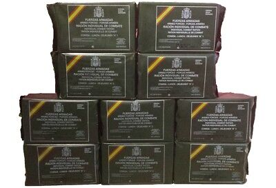Spanisches Mre Epa 10 Menüs Army Food Spanien Armee Notration Field Food Ration