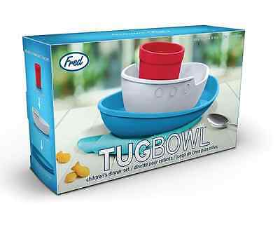 Tug Bowl by Fred - Children's Dinner Set - Cup, Bowl & Plate - NEW