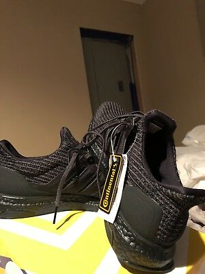d4e3c0e6e25ef ADIDAS ULTRABOOST 4.0 Triple Black BB6171 Ultra Boost New DS ...