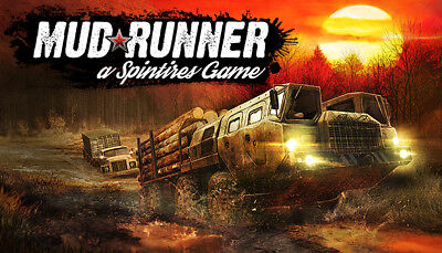 Spintires MudRunner Steam Game (PC) -  EUROPE ONLY -