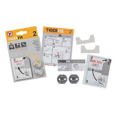 Tiger Mounting Material TigerFix Type 2 Metal Bathroom Accessory 398830046