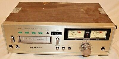 Vintage Realistic TR-883 8-TRACK Tape Player Recorder - Parts / Repair