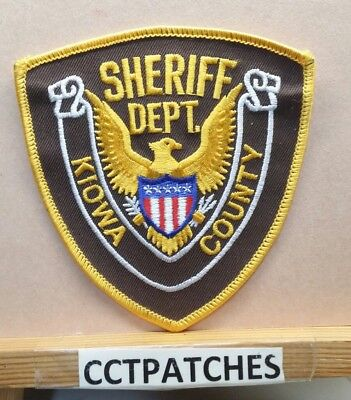Kiowa County, Colorado Sheriff (Police) Shoulder Patch Co
