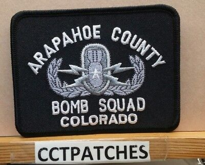 Arapahoe County, Colorado Sheriff Bomb Squad (Police) Shoulder Patch Co