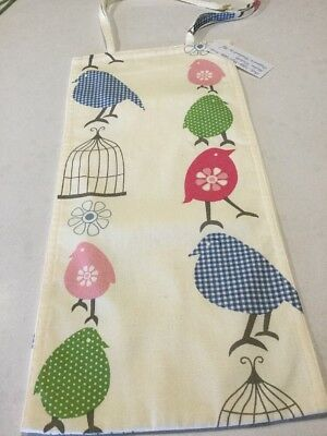 Blue Bird, Slim Line, Space Saving, Baby Diaper Nappy Stacker, Handmade, New