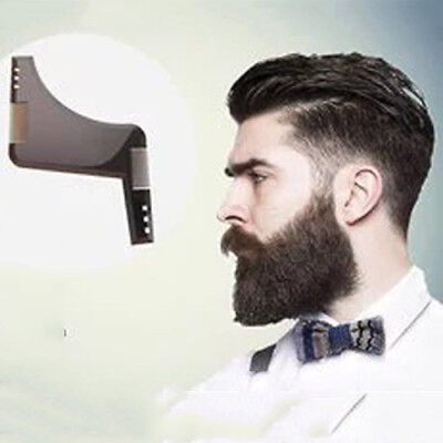Beard Styling And Shaping Template Comb Tool Beard Beauty Perfect Lines Symmetry
