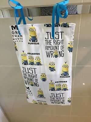 Minions, Slim Line, Space Saving, Baby Diaper Nappy Stacker, Handmade, New