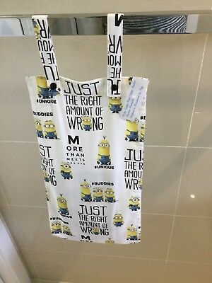 Slim Line, Space Saving, Baby Diaper Nappy Stacker, MINIONS WITH SNAP FASTENERS