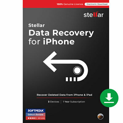 Stellar Data Recovery for iPhone Software Mac Standard Download