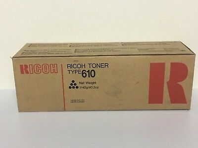 Genuine RICOH TYPE 610 TONER CARTRIDGE