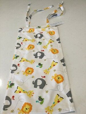 Lions & Elephants, Nappy Diaper Stacker, Slim Line, Space Saver, Handmade, New