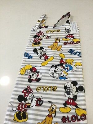Selfie Mickey Mouse, Nappy Diaper Stacker, Slim Line, Space Saver, Handmade, New