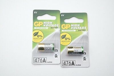 2 GP 476A 4LR44 also known as  V4034PX L1325 A544 6V Alkaline Battery